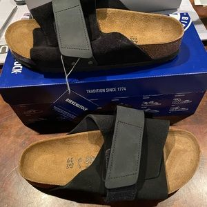 Birkenstock Kyoto black 9 narrow new